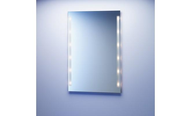 beleuchteter spiegel auf ma halogen. Black Bedroom Furniture Sets. Home Design Ideas