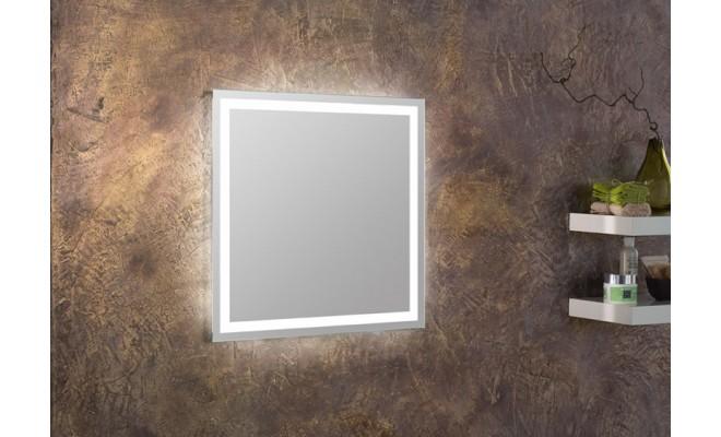 Spiegel in Standardmaßen - LED - eckig umlaufend