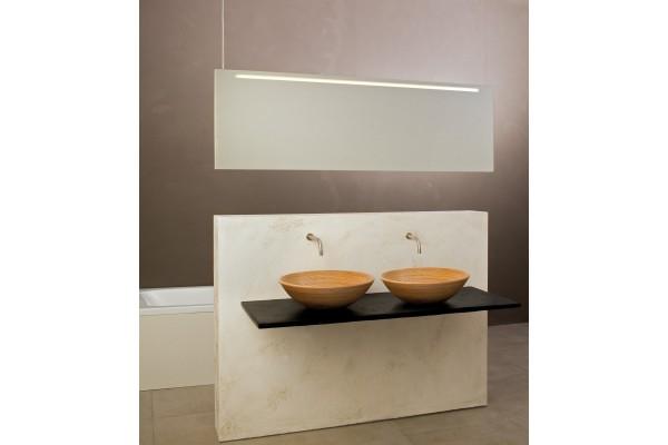 Spiegel Raumteiler mit Beleuchtung