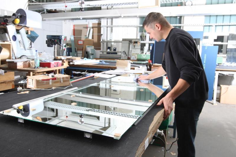 Spiegelmanufaktur Step 5 - Endkontrolle Reinigung