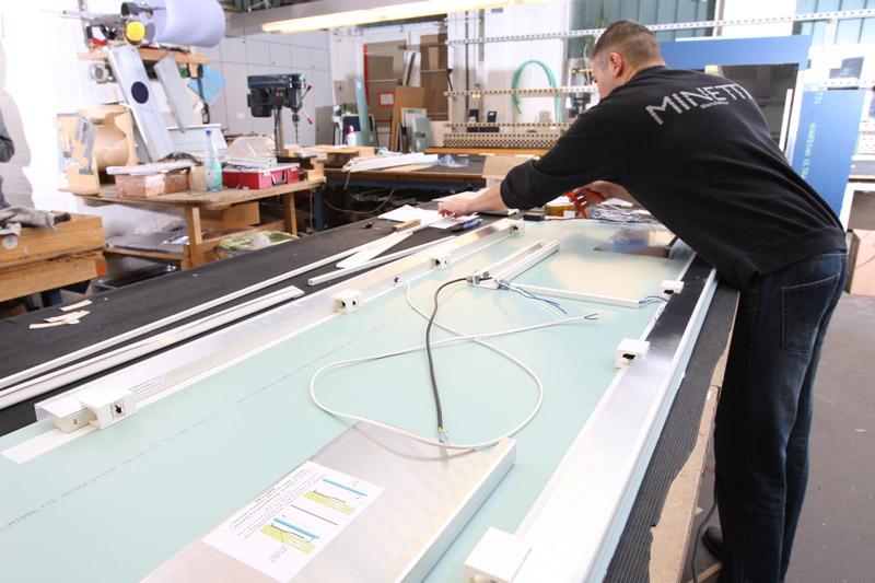 Spiegelmanufaktur Step 4 - Endmontage Elektrik