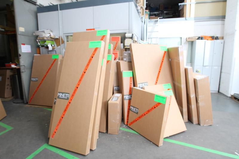 Spiegelmanufaktur Step 6 - Verpackung + Versand